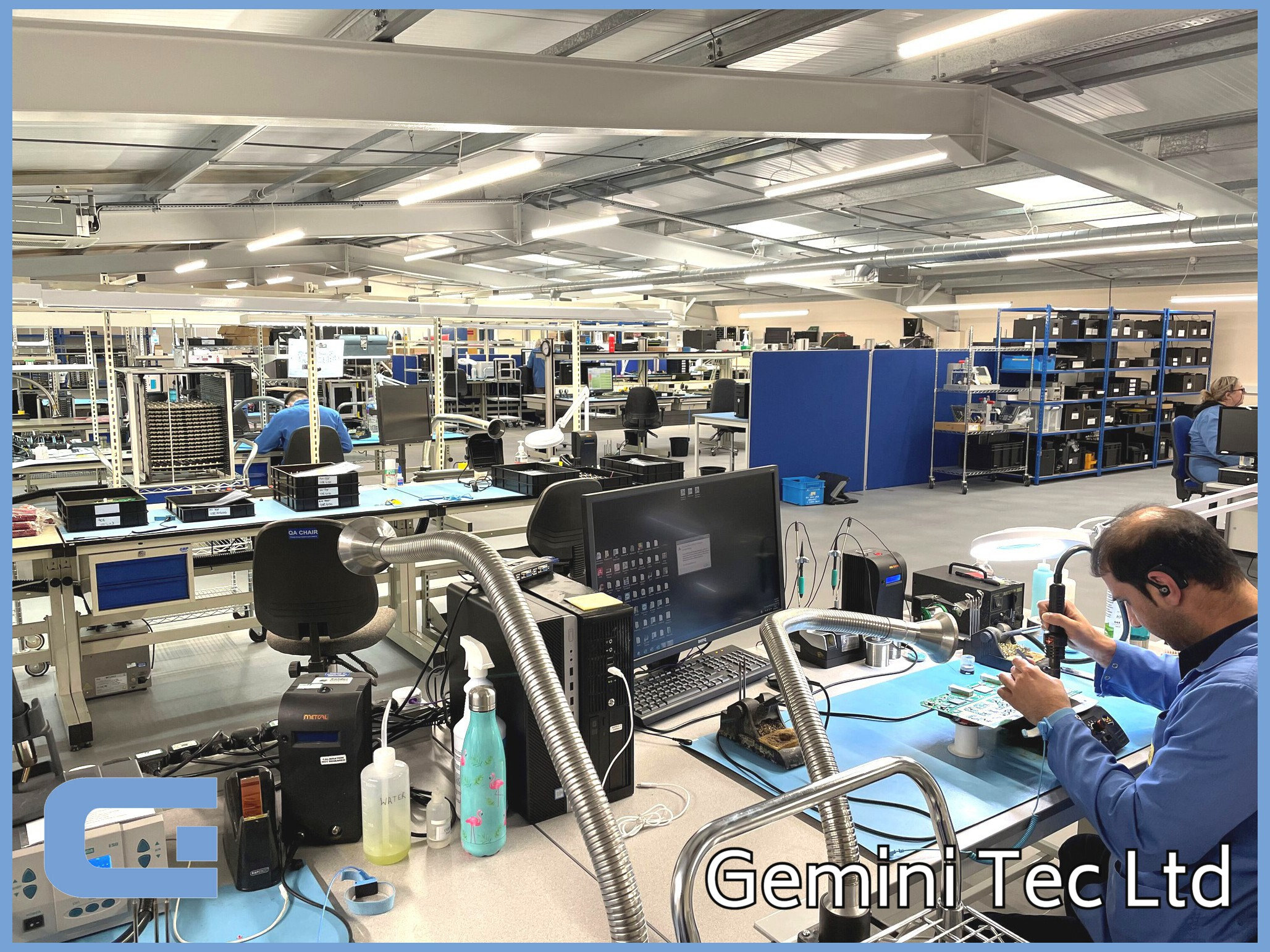Complete product assembly at CEM G-Tec