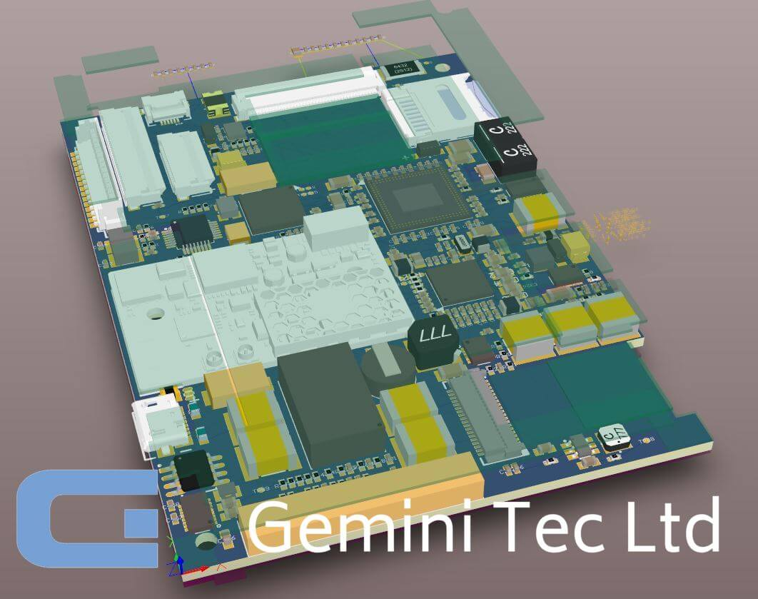 Gemini Tec 3D Step file within Altium