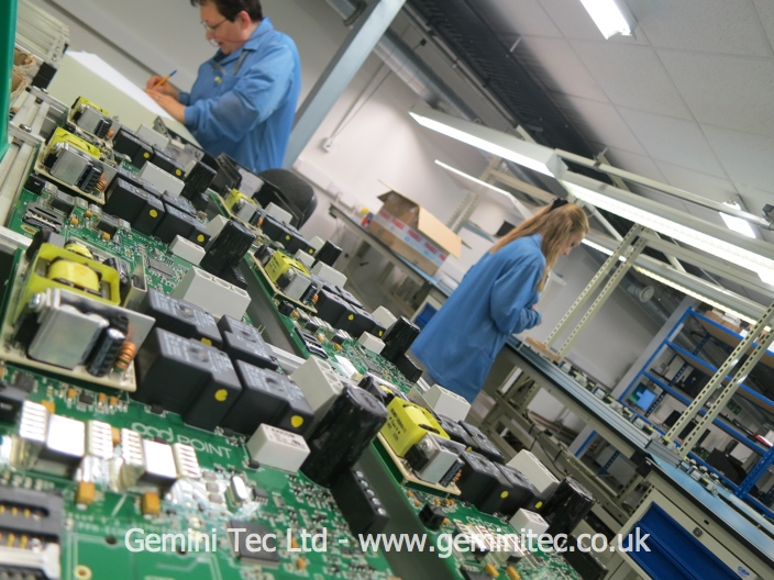 Product assembly at Gemini Tec